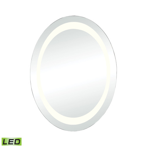 "32"" ELK Home Skorpios LED Round Wall Mirror, Modern / Contemporary - 1"
