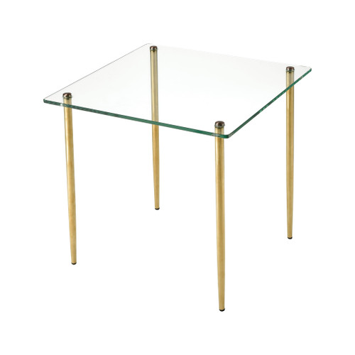 "18"" ELK Home On Point Square Accent Table, Modern / Contemporary - 1"
