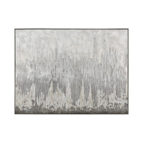 """48"""" ELK Home Shiso Vain Wall Decor in Grey and Black, Modern / Contemporary - 1"""