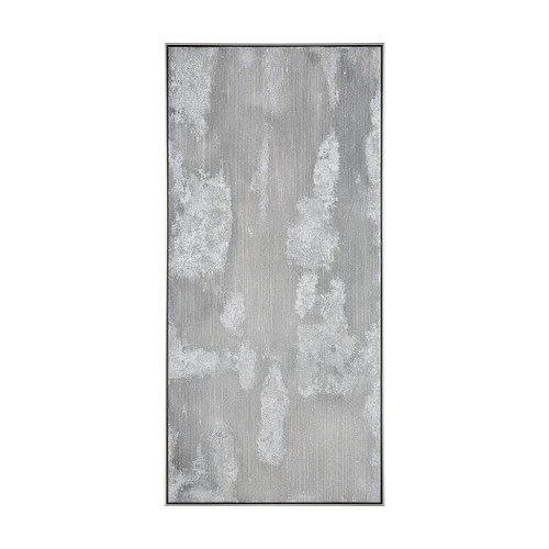 """60"""" ELK Home Saris II Wall Decor in White and Grey, Modern / Contemporary - 1"""