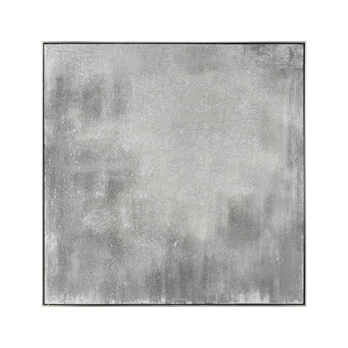 """48"""" ELK Home Gypsum Stack Wall Decor in White and Grey, Modern / Contemporary - 1"""