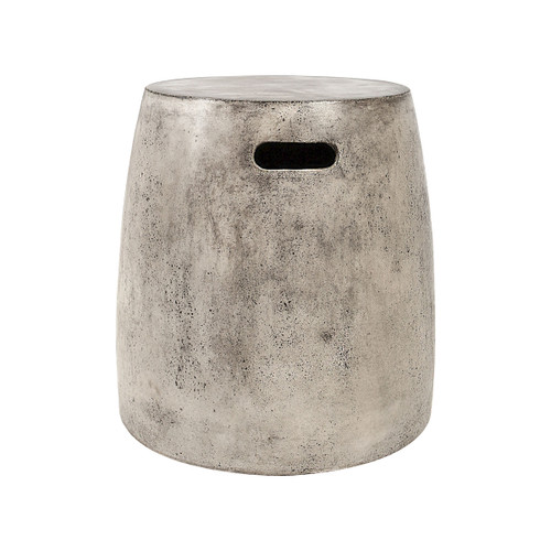"18"" ELK Home Hive Stool in Polished Concrete, Transitional - 1"