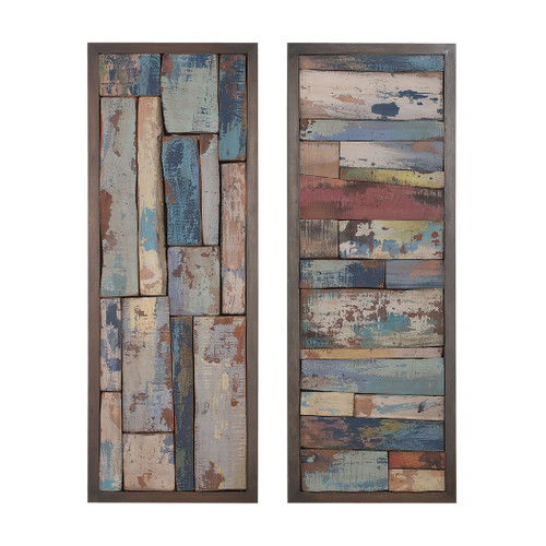 """Set of 2 ELK Home Story Boards, Traditional 48"""" - 1"""