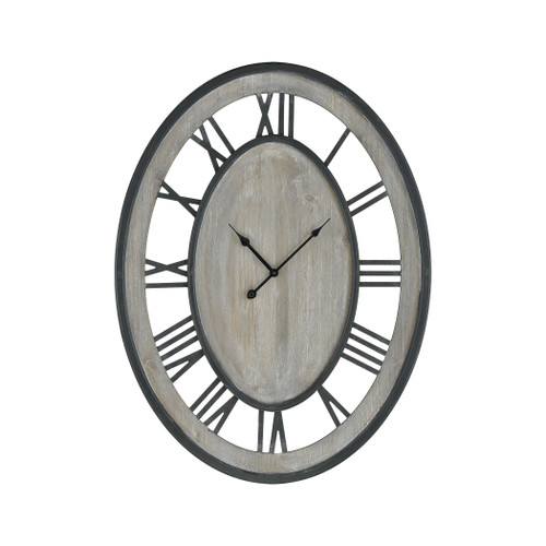 "32"" ELK Home Cockspur Street Wall Clock, Transitional - 1"