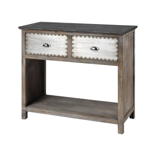 "38"" ELK Home Mississippi Queen 2-Drawer Console Table, Transitional - 1"