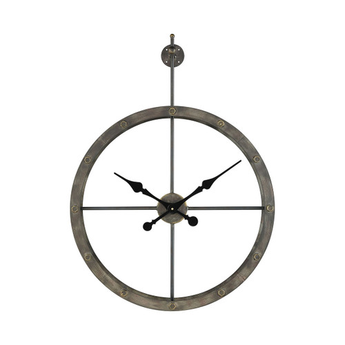 "24"" ELK Home Depeche Wall Clock, Transitional - 1"