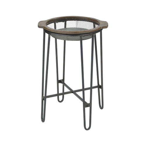 """27"""" ELK Home Superstition Accent Table, Transitional - 1"""