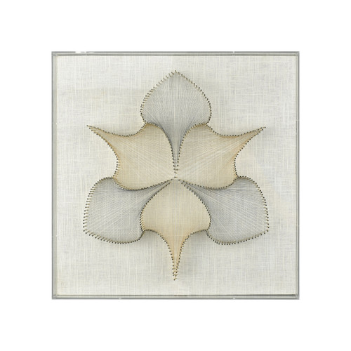 "18"" ELK Home Whiptail Threaded Wall Art, Transitional - 1"