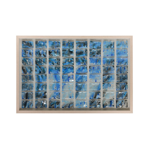 "47"" ELK Home Glass Ocean Wall Decor, Modern / Contemporary - 1"