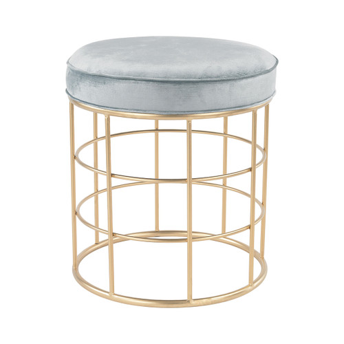 "21"" ELK Home Beverly Glen Accent Stool, Transitional - 1"