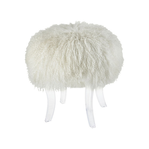 "19"" ELK Home Hair Apparent Stool, Transitional - 1"