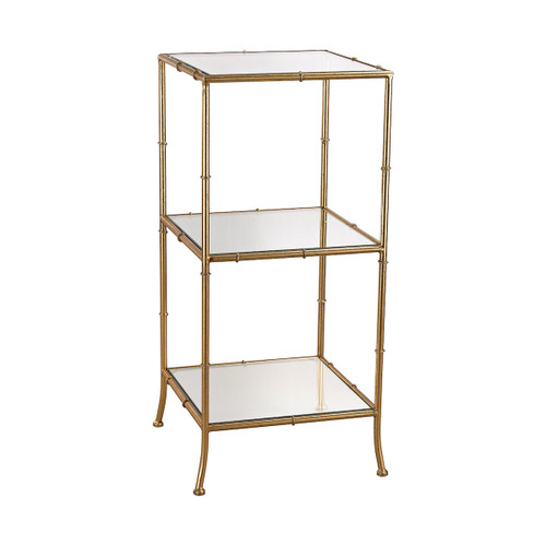 "31"" ELK Home Malacca Shelving Unit in Bamboo, Transitional - 1"