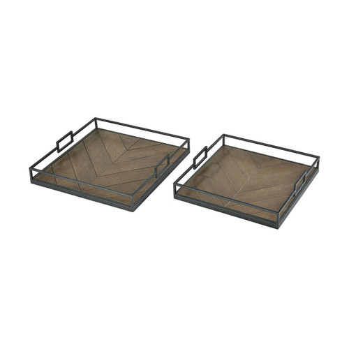 "18"" ELK Home Circa Trays, Transitional - 1"