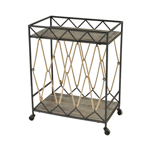 "30"" ELK Home Roadshow Cart, Transitional - 1"