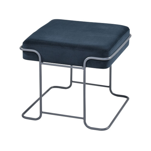 "16"" ELK Home Interlinked Single Bench in Deep Navy and Grey, Modern / Contemporary - 1"