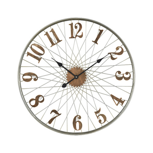 "27"" ELK Home Moriarty Wall Clock, Transitional - 1"