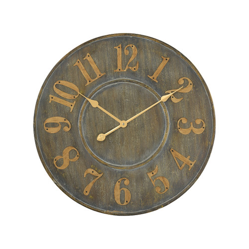 "24"" ELK Home Queensland Wall Clock, Transitional - 1"