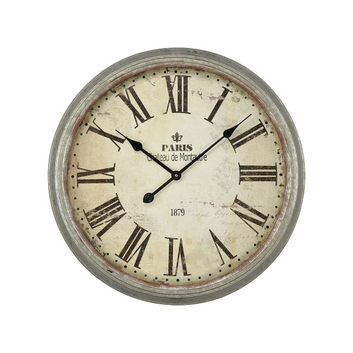 "24"" ELK Home Chateau de Montautre Wall Clock, Transitional - 1"