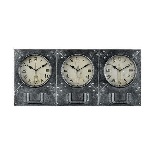 "30"" ELK Home Age of Progress Wall Clock, Traditional - 1"