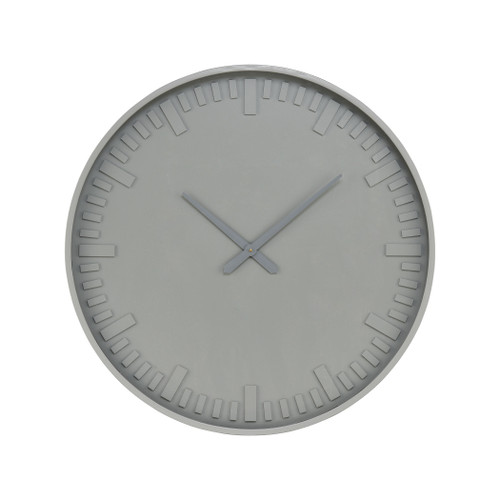 "31"" ELK Home Marceau Wall Clock in Grey, Modern / Contemporary - 1"