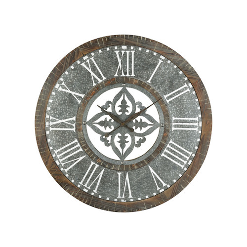 "36"" ELK Home Greystone Wall Clock, Transitional - 1"