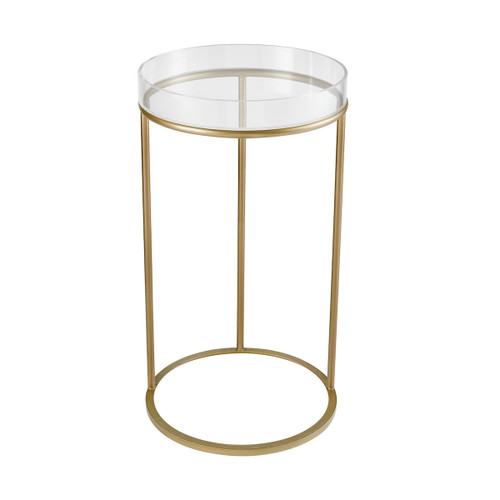 "28"" ELK Home Hyperion Accent Table - Round, Transitional - 1"