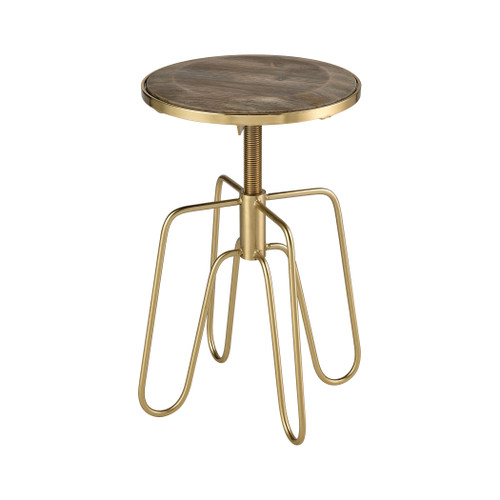 "19"" ELK Home Rhythm Kings Accent Table, Transitional - 1"