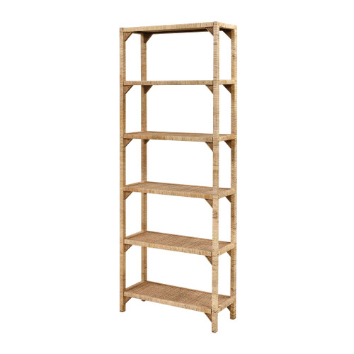"""64"""" ELK Home Fargesia Bookcase, Transitional - 1"""
