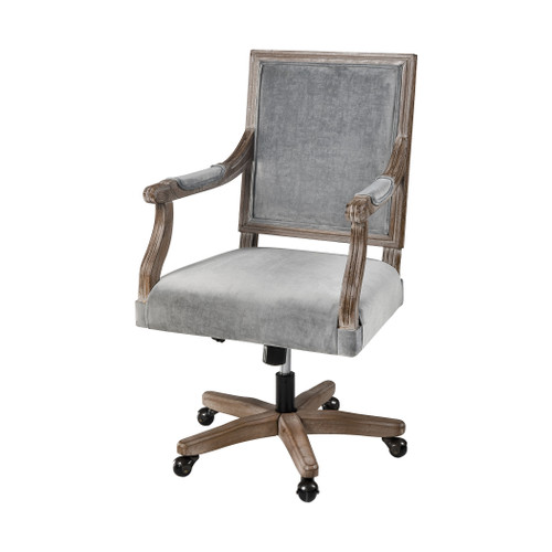 "40"" ELK Home Lord Byron Office Chair - Grey, Traditional - 1"
