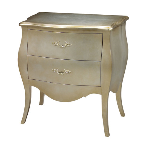 """30"""" ELK Home Romana Bow front Chest, Transitional - 1"""