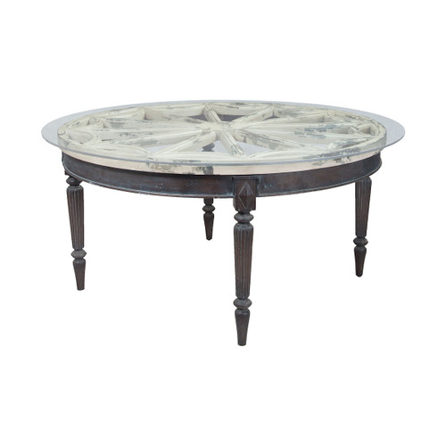 """60"""" ELK Home Artifacts Round Dining Table, Traditional - 1"""