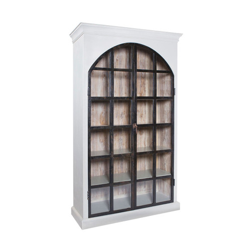 """80"""" ELK Home Artifacts Farmhouse Display Cabinet, Traditional - 1"""