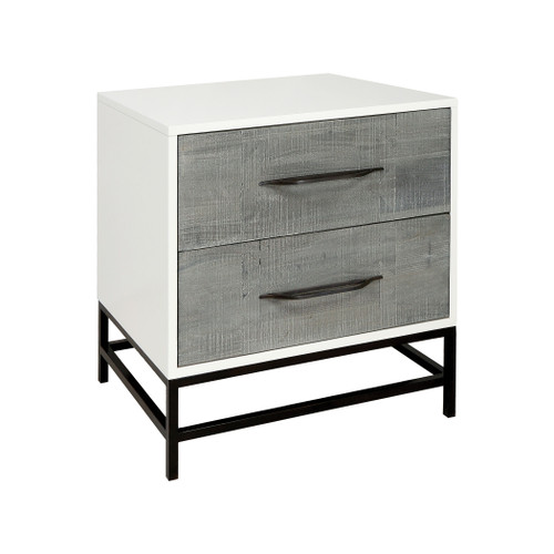 """28"""" ELK Home Dovetail Side Chest, Transitional - 1"""