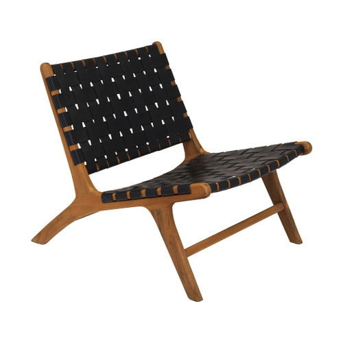 """31"""" ELK Home Dark Marty Chair, Transitional - 1"""