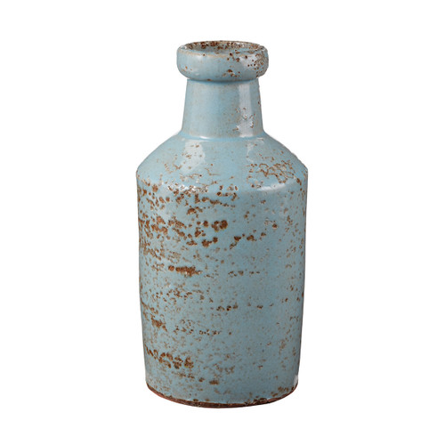 "8"" ELK Home Rustic Persian Milk Bottle, Transitional - 1"