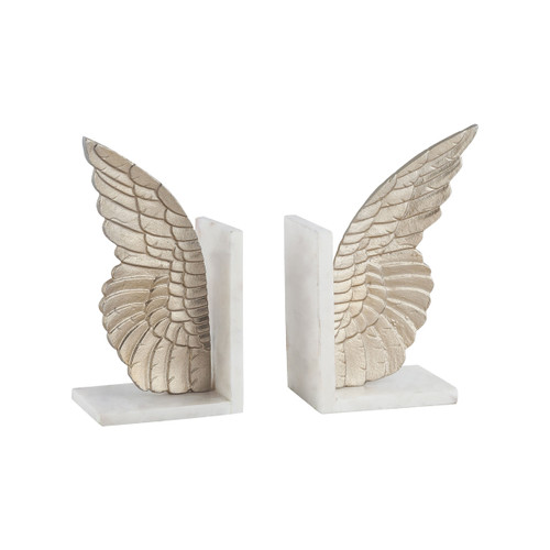 """Set of 2 ELK Home Seraph Bookends, Transitional 11"""" - 1"""