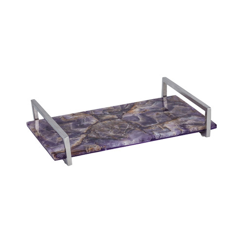 "14"" ELK Home Amethyste Tray, Transitional - 1"