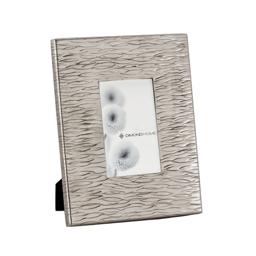 "10"" ELK Home Small Aluminum Textured Photo Frames, Transitional - 1"