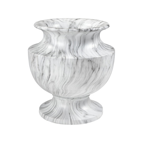"20"" ELK Home Via Appia Large Marbling Planter, Traditional - 1"