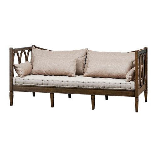 """60"""" ELK Home Weaver Twin Day Bed - Cushions included, Transitional - 1"""