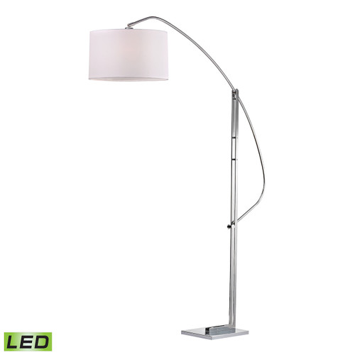 "50"" ELK Home Assissi Adjustable Arc Floor Lamp in Polished Nickel - LED, Modern / Contemporary - 1"