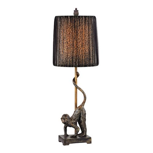 "26"" ELK Home Monkey Accent Lamp, Traditional - 1"