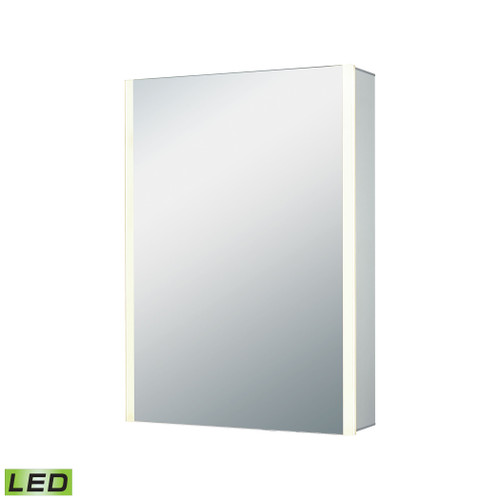 """20"""" x 27"""" ELK Home LED Mirrored Medicine Cabinet, Modern / Contemporary - 1"""