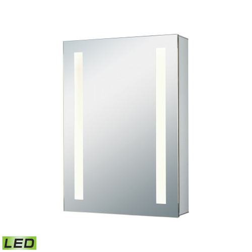 "20"" x 27"" ELK Home LED Mirrored Medicine Cabinet, Modern / Contemporary 1 - 1"