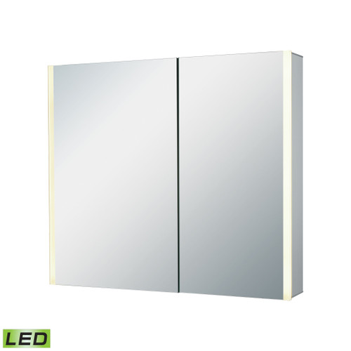 "32"" x 27"" ELK Home LED Mirrored Medicine Cabinet, Modern / Contemporary - 1"