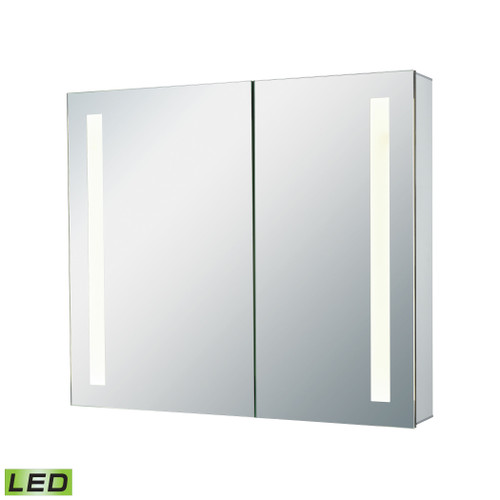 "32"" x 27"" ELK Home LED Mirrored Medicine Cabinet, Modern / Contemporary 1 - 1"