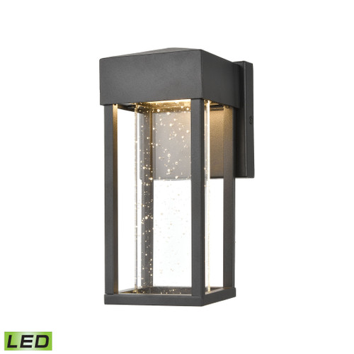 "10"" ELK Lighting Emode Sconce in Matte Black with Seeded Crystal - Integrated LED, Modern / Contemporary 1 - 1"