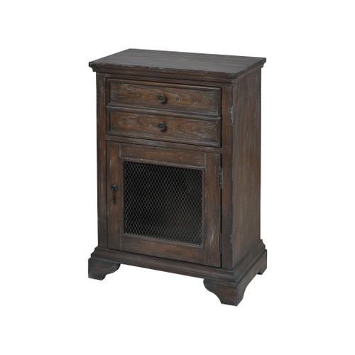 """30"""" Stein World Macroom 2-Drawer Cabinet, Traditional - 1"""