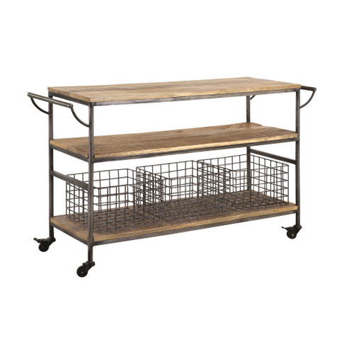 "48"" Stein World Country Kitchen Trolley, Transitional - 1"