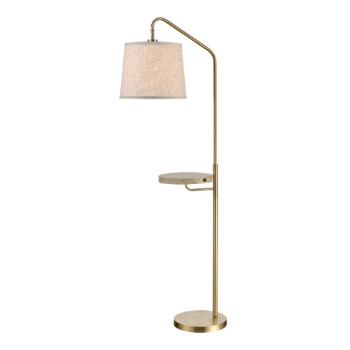 """61"""" Stein World Regina Floor Lamp with USB Charger, Transitional - 1"""